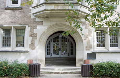 Biological Sciences Department is located in Harned Hall