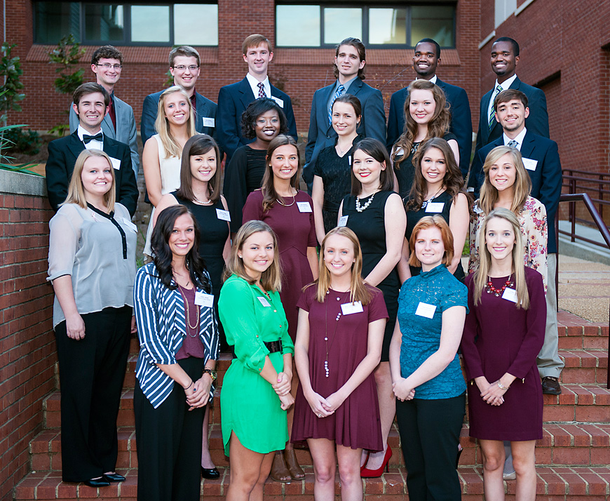 Fall 2015 Society of Scholars Inductees