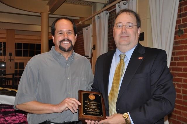 Dr. Kaplan Receives A&S Teaching Award
