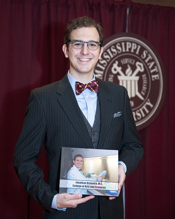 Jonathan Belanich Inducted to Graduate School Honors Hall of Fame