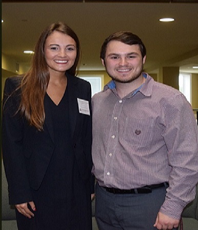 Jackson Coole and Jaslyn Langford Awarded Spring 2016 Undergraduate Research Symposium Presentation Awards