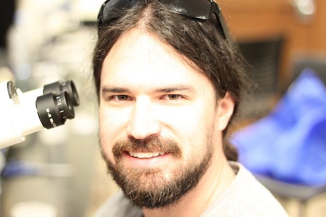 BIO Ph.D. Student, AlexTice,  Receives Two Research Awards