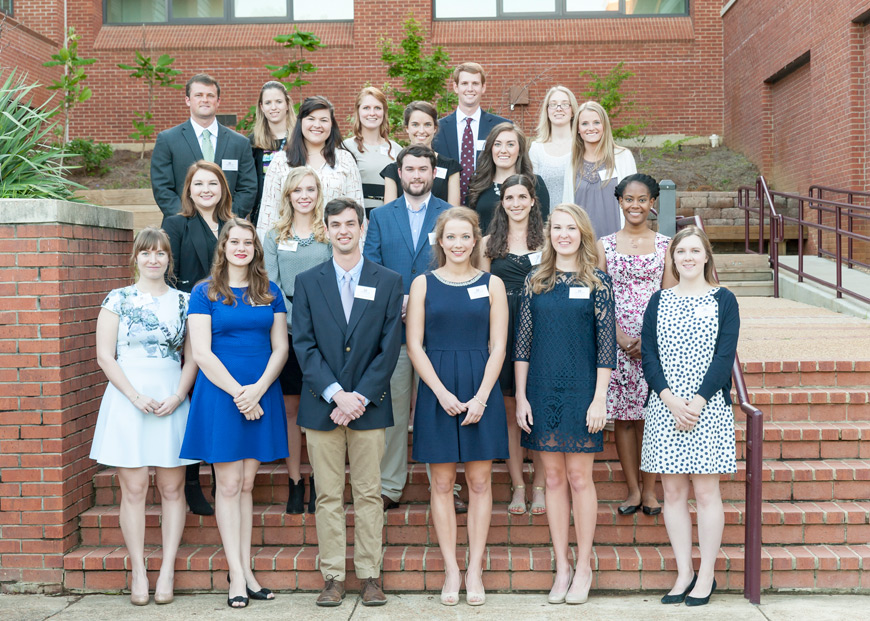 Spring 2016 Society of Scholars in the Arts & Sciences